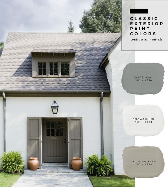 exterior paint scheme