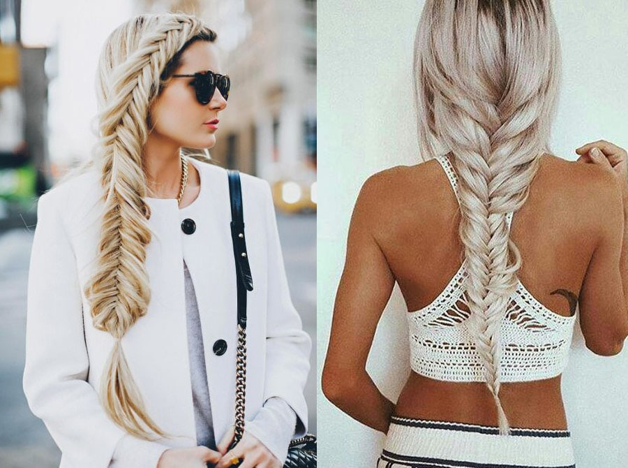 How To Style A Fishtail Braid Without Any Tool