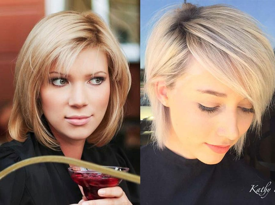 20 Interesting Short Hairstyles And Haircuts With Bangs Style