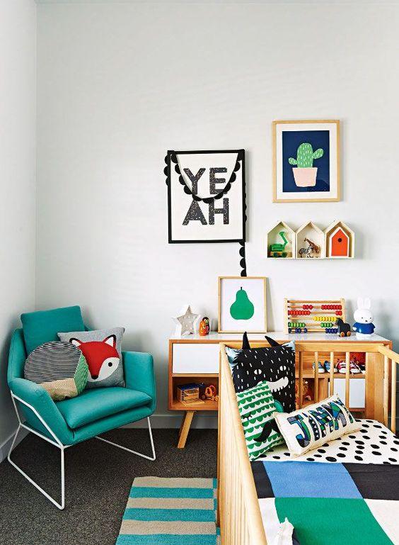 Nursery Decoration Ideas: Unisex Style
