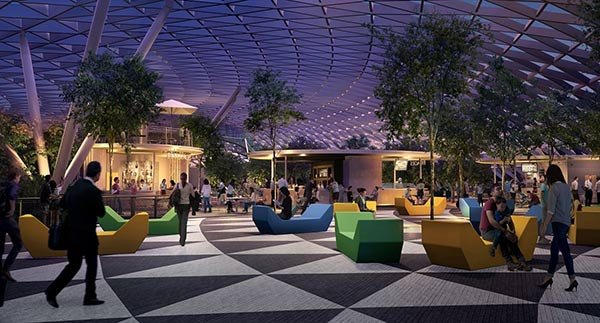 "Upcoming Magnificent Project ""Jewel Changi Airport"""