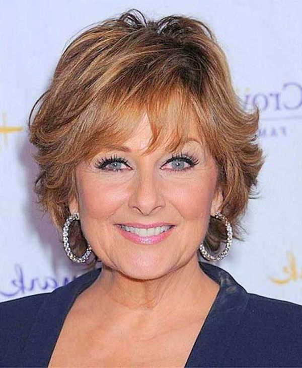 Short Hairstyle For Older Woman With Fine Thin Hair Stylendesigns
