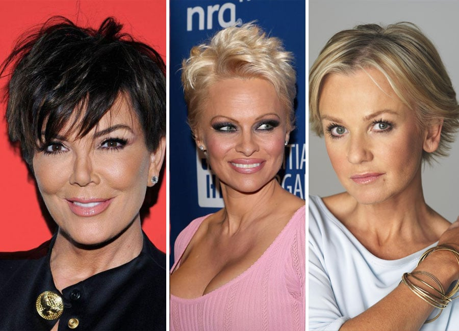 Top 22 Celebrities Short Hairstyles for Older Woman ...