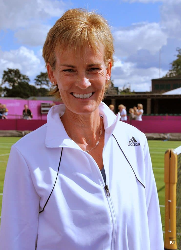 Judy Murray's classic crop