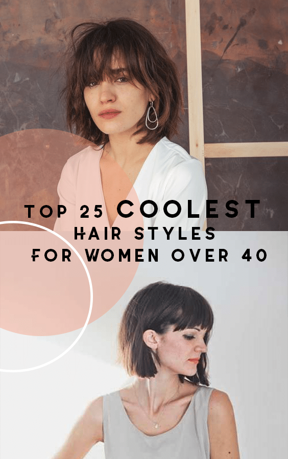 top 25 coolest hairstyles for women over 40 stylendesigns