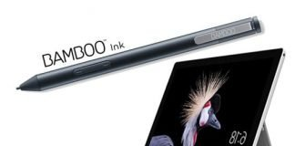 Bamboo ink surface pen 3