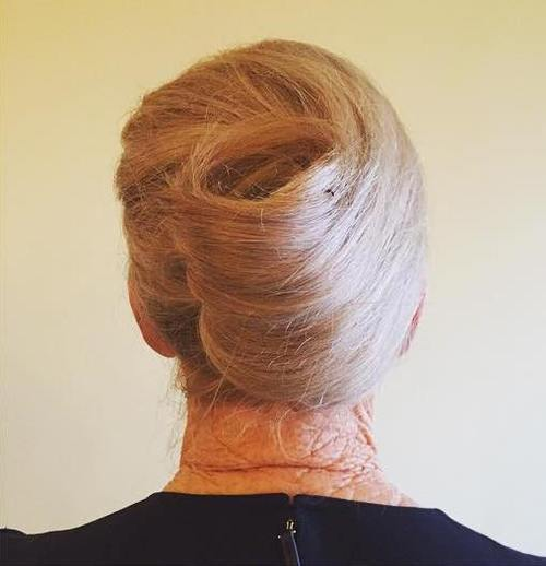 Long Hairstyles for Older Women