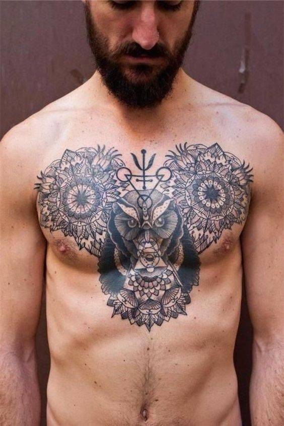 Awesome Chest Tattoo Ideas For Men