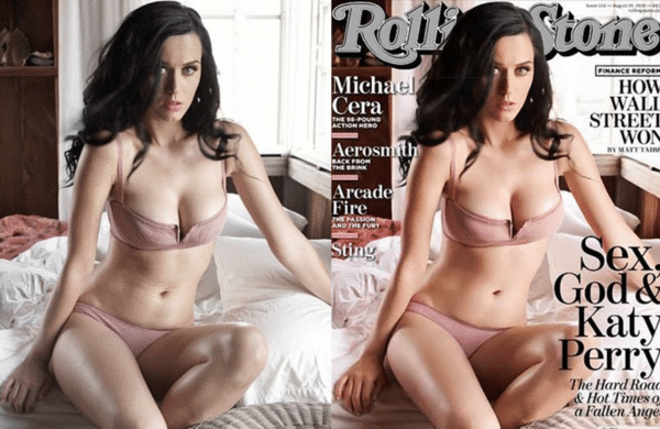 20 Celebrities Photo You Never Know They Were Retouched