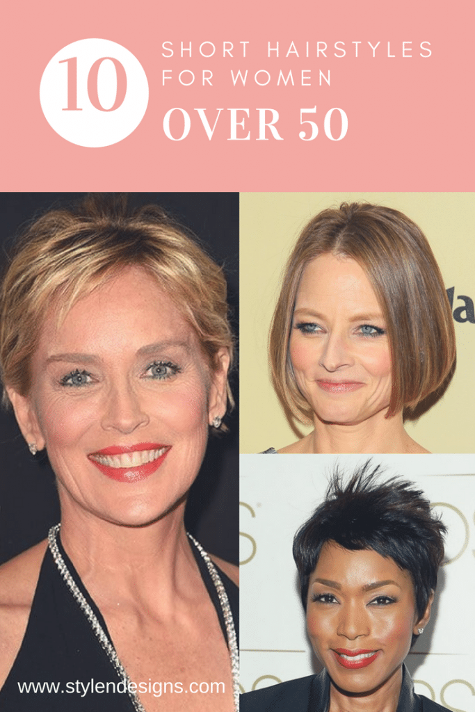 best short hairstyles for ladies over 50,