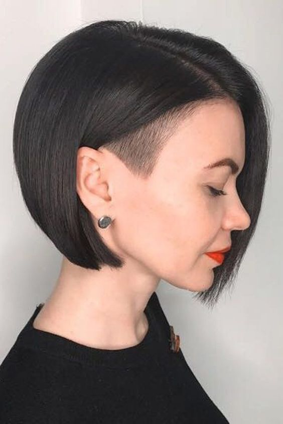 Straight Asymmetrical Hair