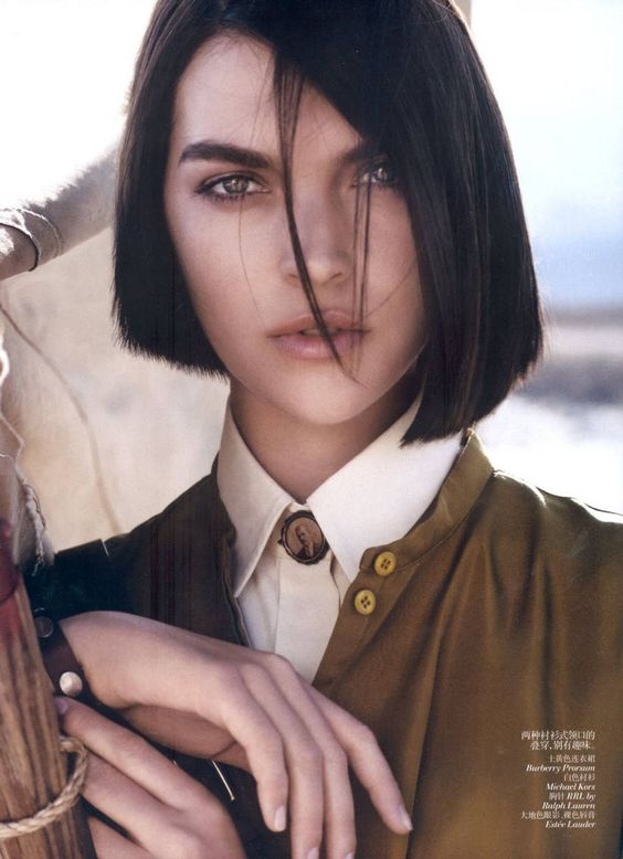 Blunt Asymmetrical Women Alternative Hair