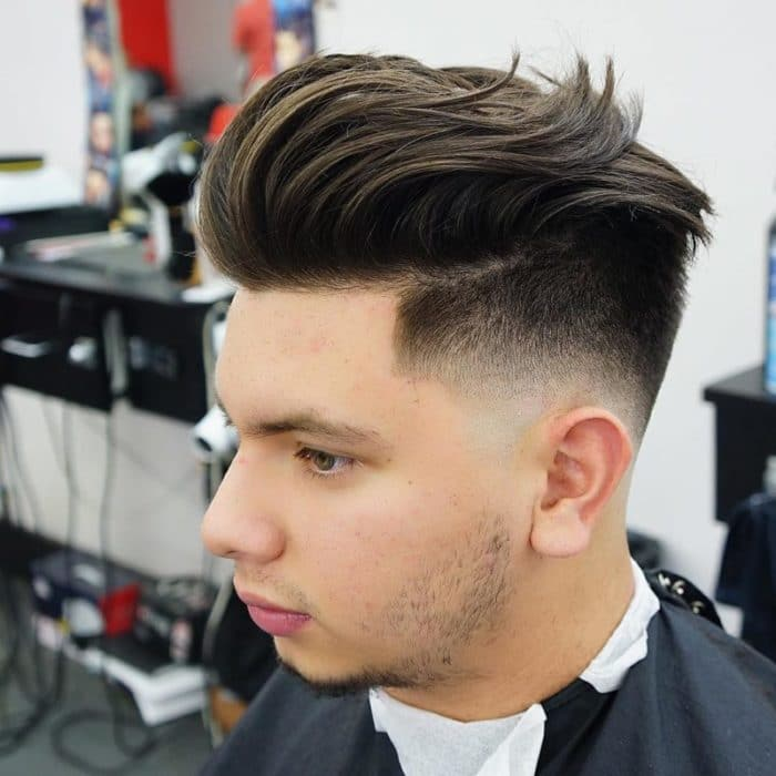 Asian Pompadour Hairstyle