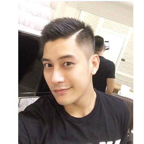 Short Blow Back haircut