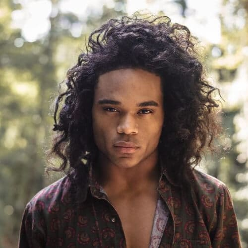 Popular Curly Hairstyles For Black Men