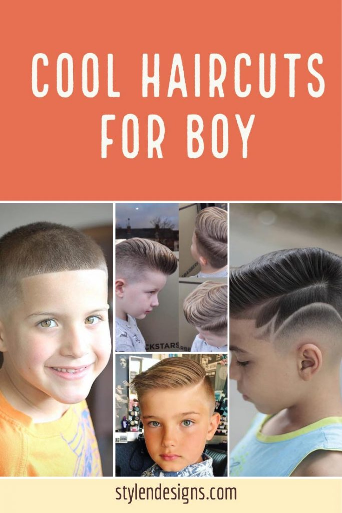 Cool Haircuts for Boys