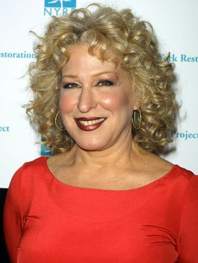 Bette Midler's curls