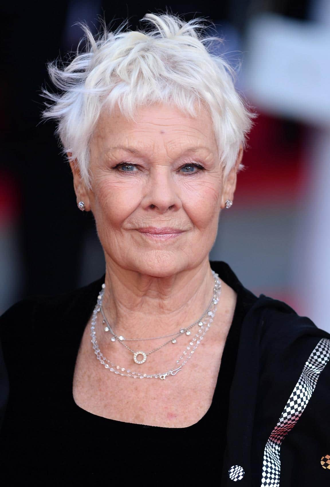 Judi Dench's choppy pixie