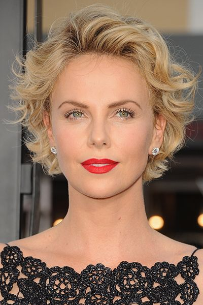 Charlize Theron's crop women over 50 short hairstyles