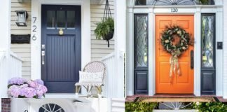 What front door color say about you