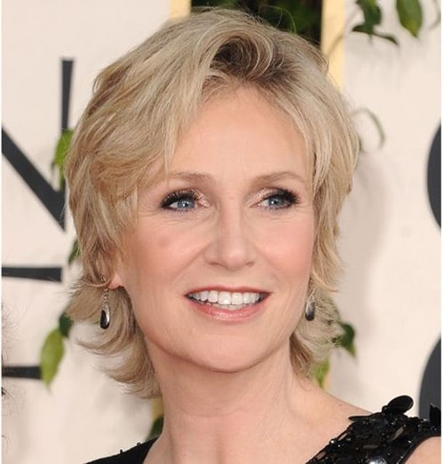 Jane Lynch Celebrities Short Hairstyles