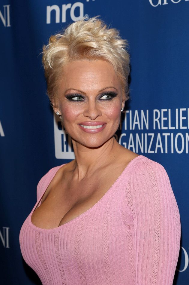 Pamela Anderson's undercut