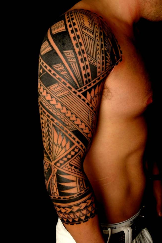 Cool Polynesian Tattoos with Meaning