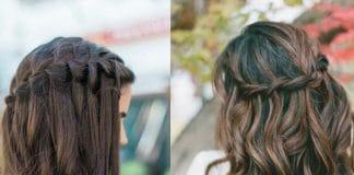 waterfall hairstyle
