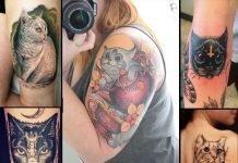 Cat Lovers Tattoo Ideas