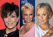 celebrities short hairstyles