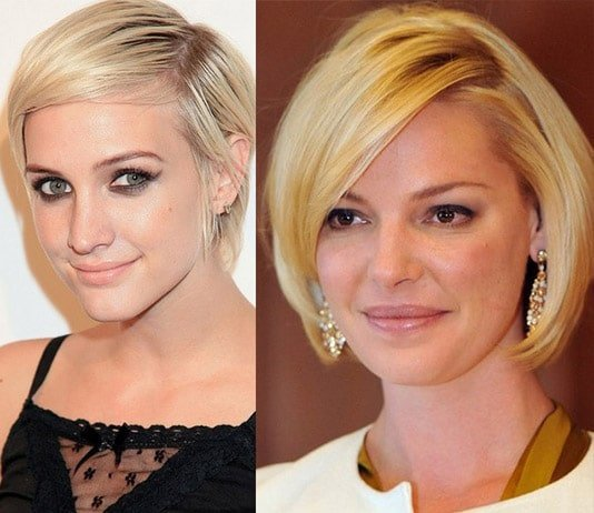 celebrity short hairstyle