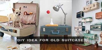 DIY Ideas for Old suitcase