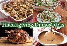 Thnaksgiving dinner ideas
