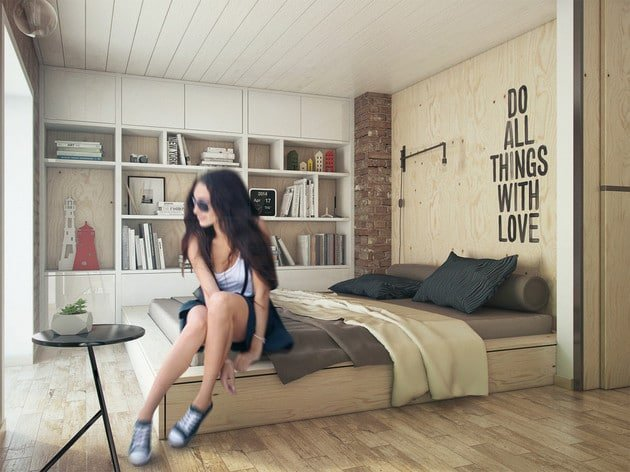 Awesome Bedroom Interior Designs with Wooden Set