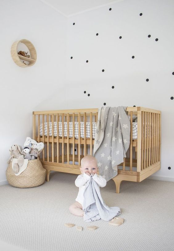 Bright & Minimalist Baby Room Ideas